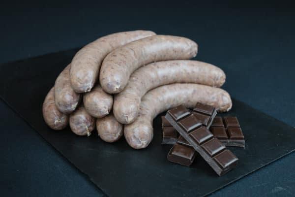 saucisses chocolat