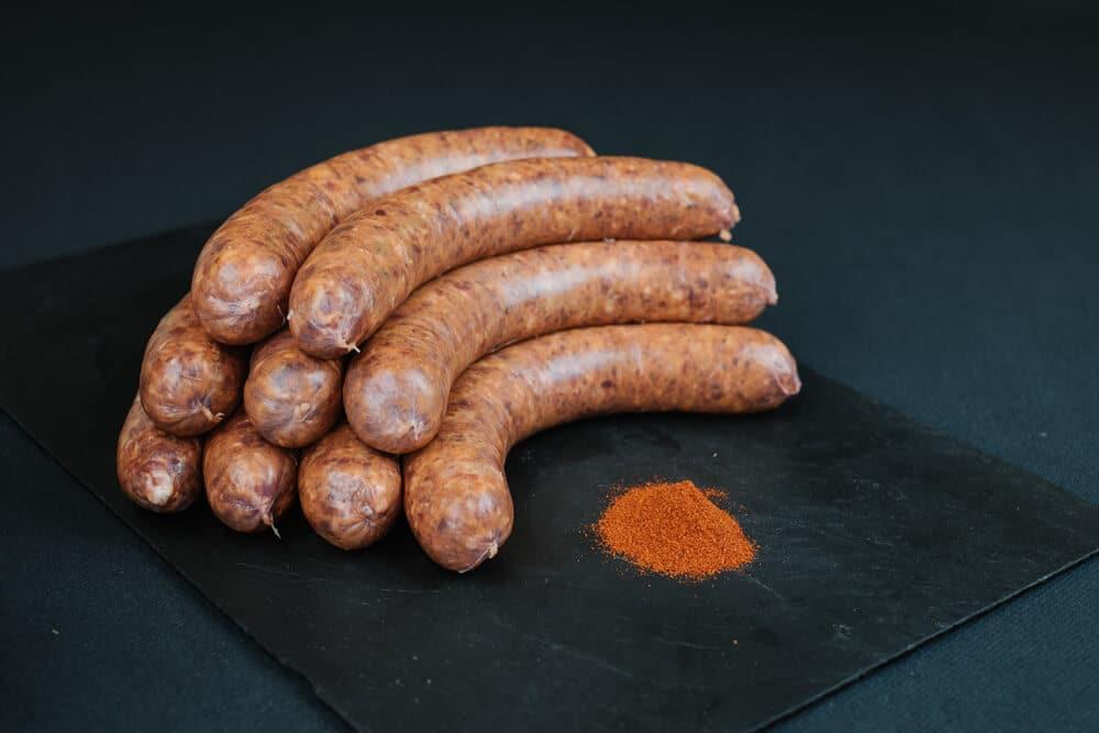Saucisses au Boeuf et paprika