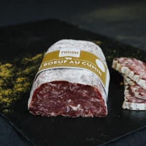 Saucisson sec au bœuf Français au cumin